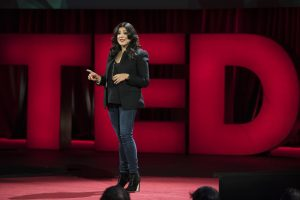 Reshma Saujani speaks at TED2016 - Dream, February 15-19, 2016, Vancouver Convention Center, Vancouver, Canada. Photo: Bret Hartman / TED